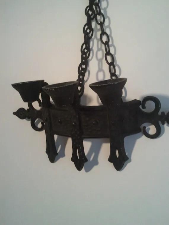 wall mounted candle holder candelabra black rod by ... on Wall Mounted Candle Holder id=83038