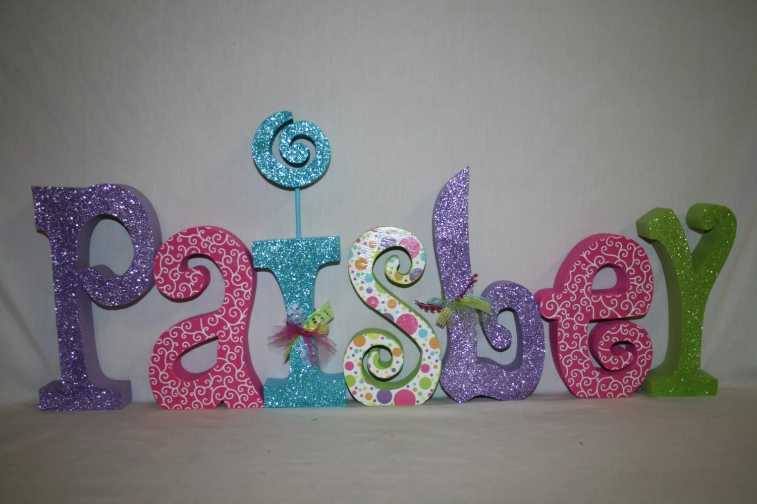 Items Similar To Nursery Letters, Wood Letters, Name