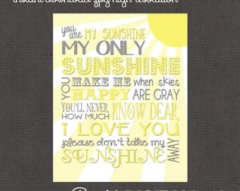 Your Own Sunshine Etsy