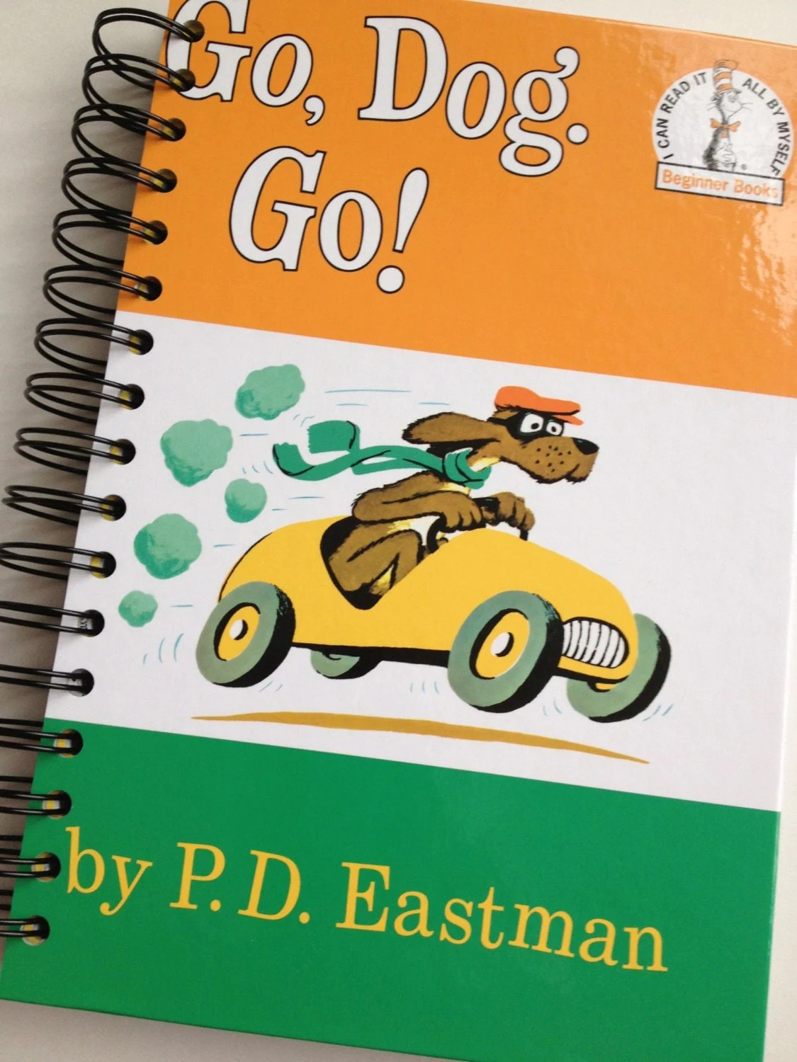 Go Dog Go Dr Seuss Beginner Books Recycled By