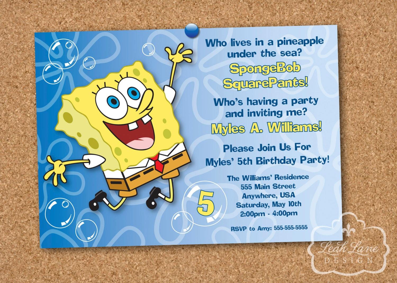 Custom 5x7 Invitations
