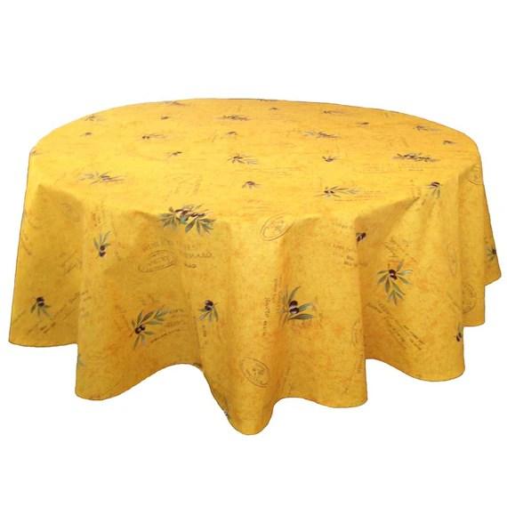 60 Cotton Cloths Table Round