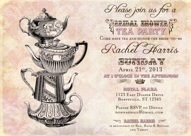 free printable victorian tea party invitations invitationswedd org