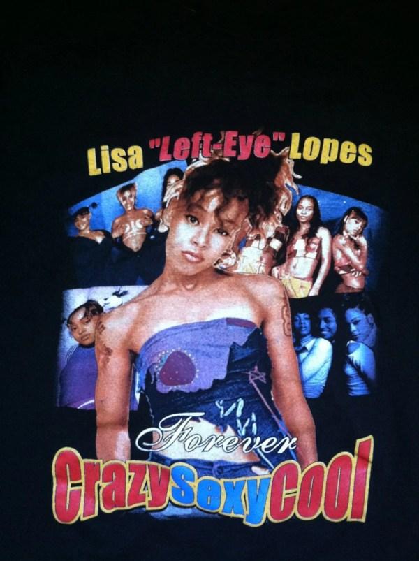 III Really Great Lisa Left Eye Lopes TLC T Shirt III
