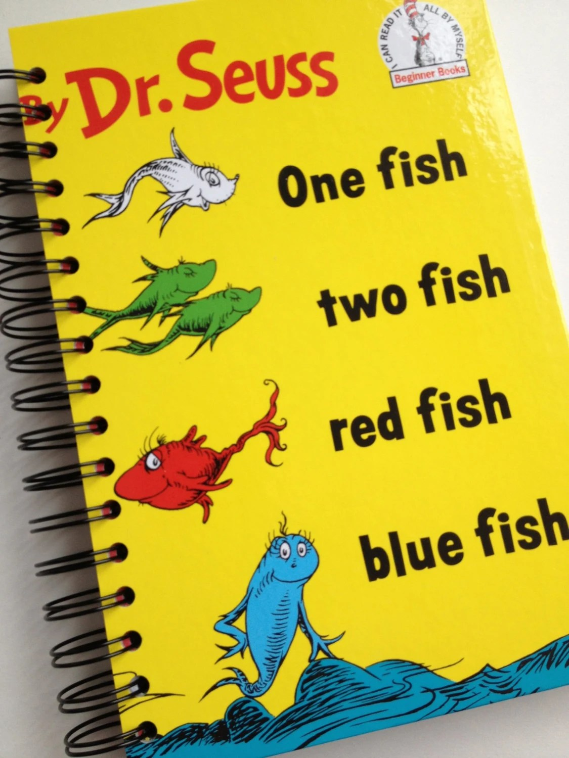 One Fish Two Fish Red Fish Blue Fish Dr Seuss Beginner Books