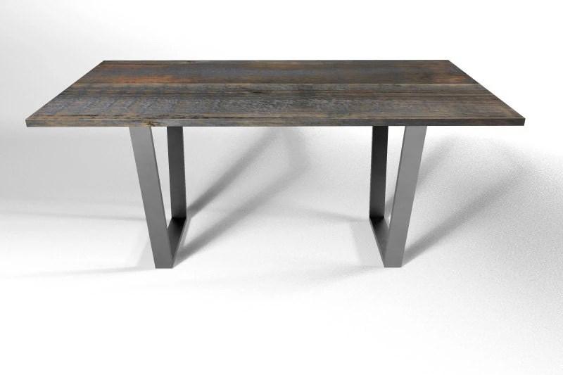 Trapeze Dining Table Leg Base Metal Legs By DIYFurnitureStore