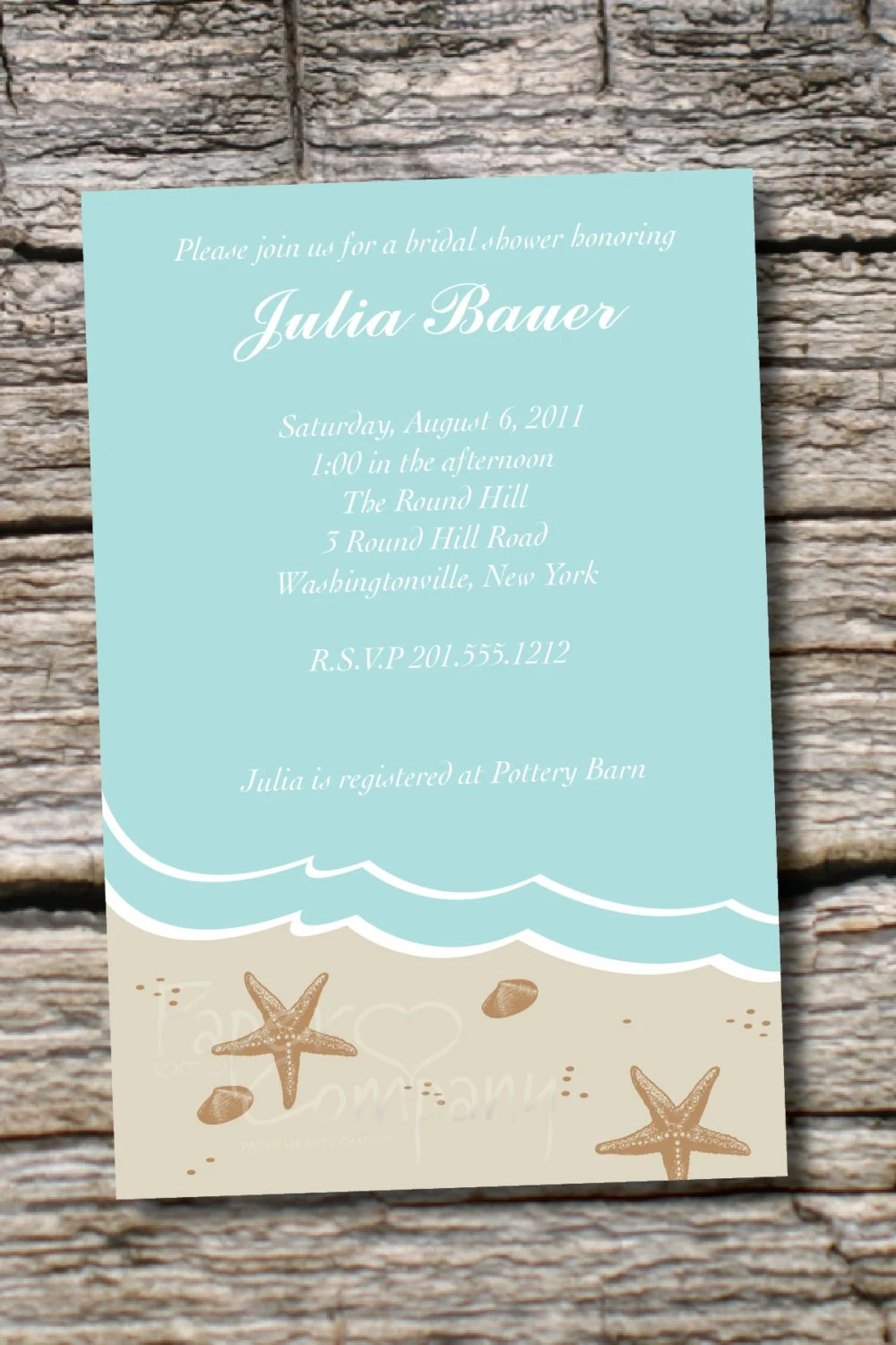 Bridal Shower Invitations Requesting Money