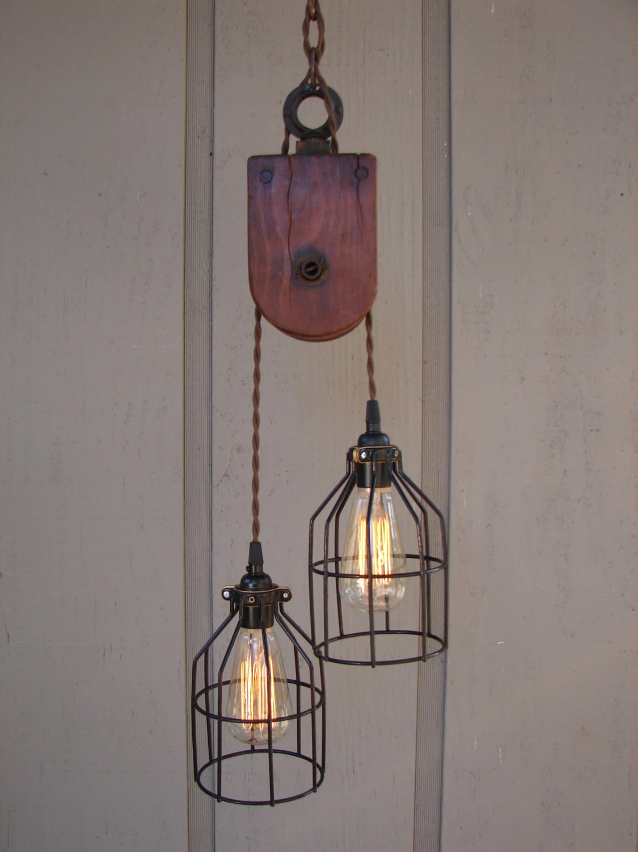 Rustic Barn Pendant Lights