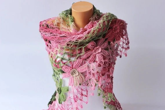 Bridal Shawl Crochet Shawl Bridesmaid Gift Crocheted Shrug