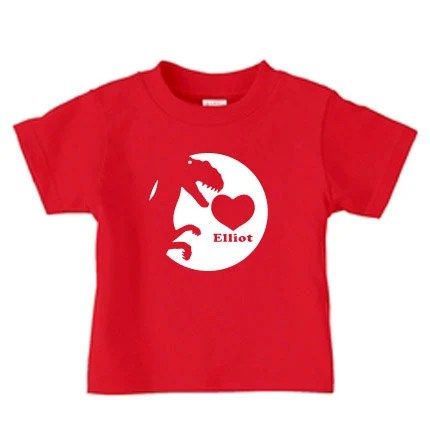 Personalized Valentine Dinosaur Shirt For Kids T By