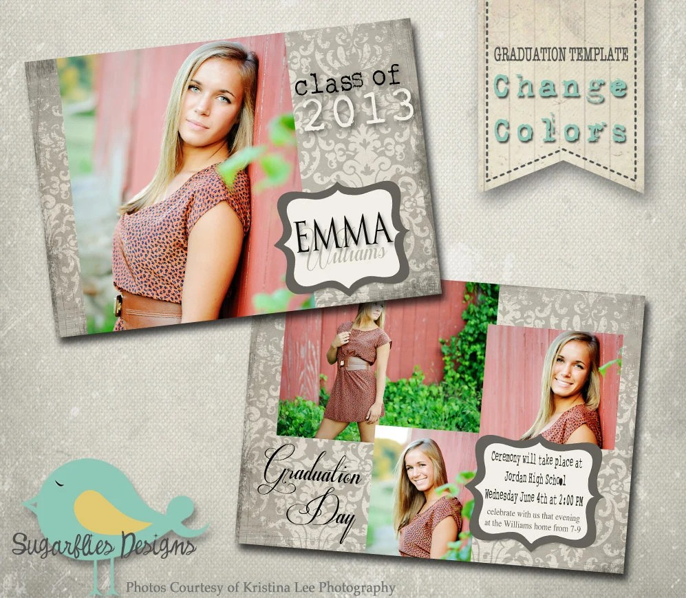 Senior Picture Invitations