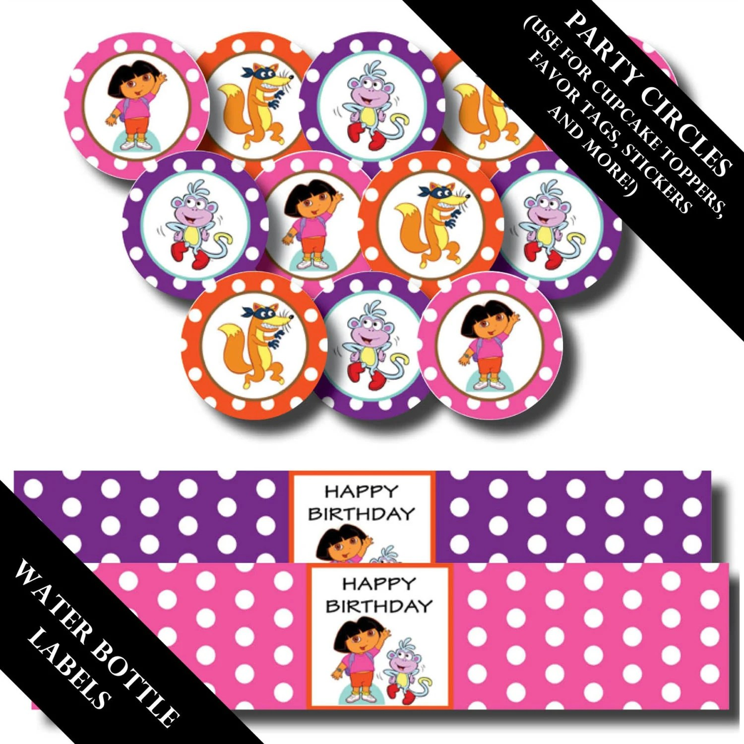 Dora The Explorer Printable Invitations And Party Decorations