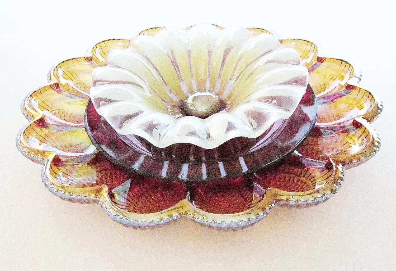Arte Quintal decoração vintage girassol Plate Glass Suncatcher Repurposed Upcycled TARA