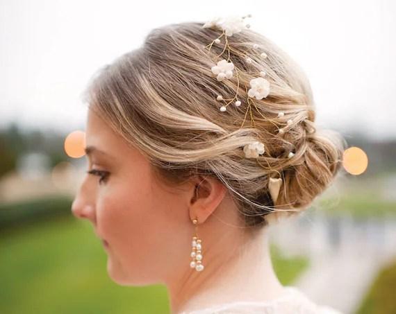 Wedding Floral Crown Bridal Hair Accessories Wedding By