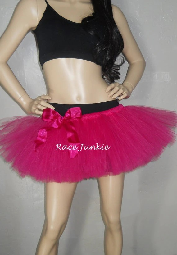 Fuchsia Adult tutu. Many Colors Available (9 inch tutu running tutu)
