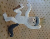 "Max from ""Where the wild things are"" fondant cake topper - Cupncake1"
