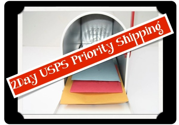 USPS Priority Mail Shipping Upgrade Domestic US Delivery