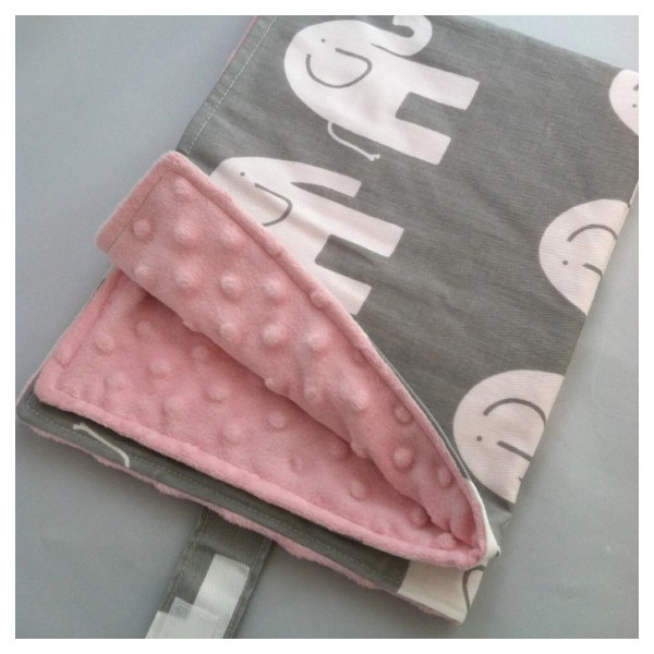 Baby Travel Change Pad..Modern Elephant and by ShowerChic ...