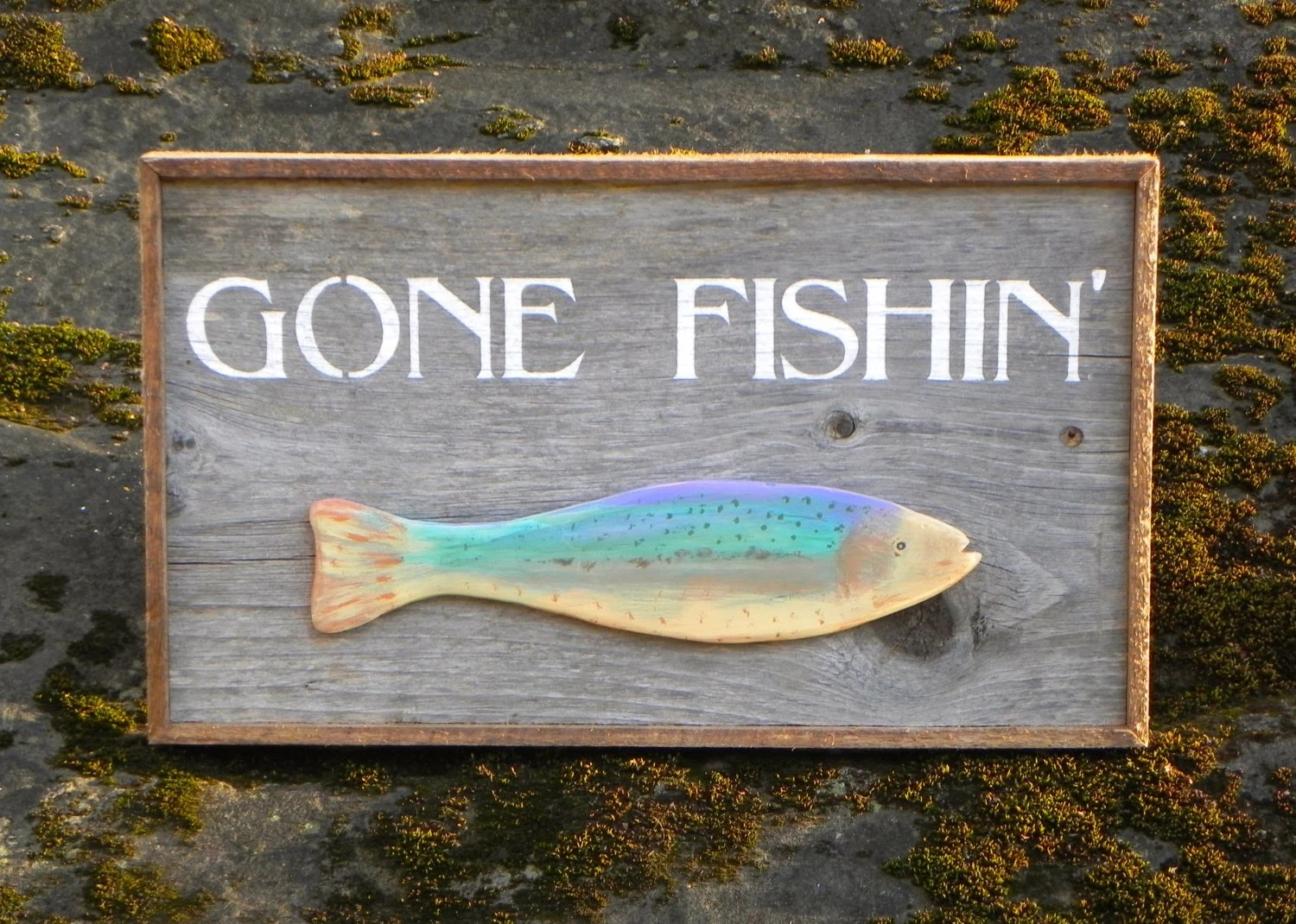 Hand Painted Wood Signs Home Decor