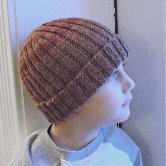 Felted Knit Hat Pattern