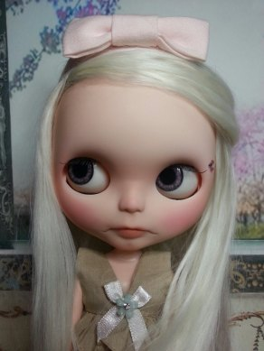Blythe Doll with Suri Fiber