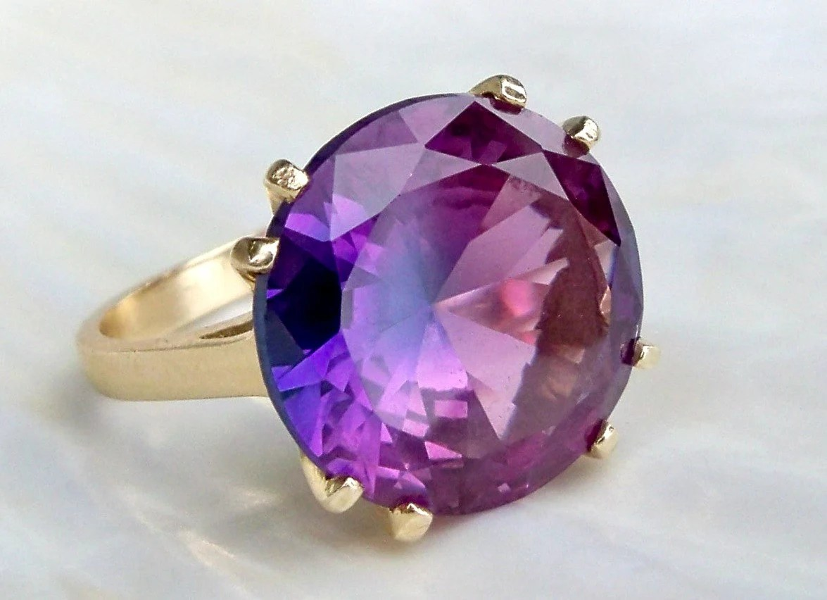 Color What Genuine Alexandrite