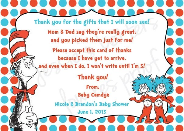 Thank You Quotes Baby Shower Gifts