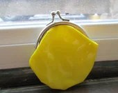 Lemon Change Purse - EstateSaleShop