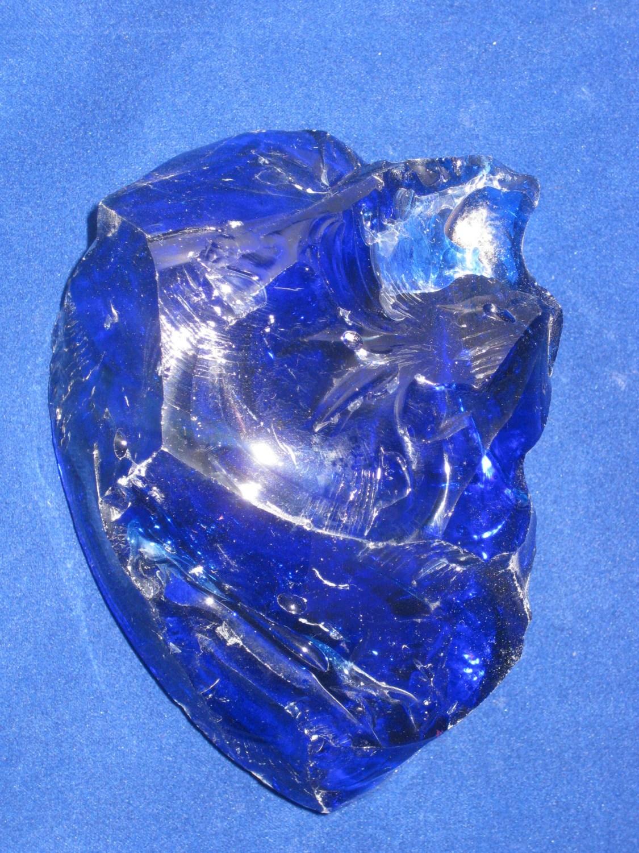 Blue Decorative Rocks