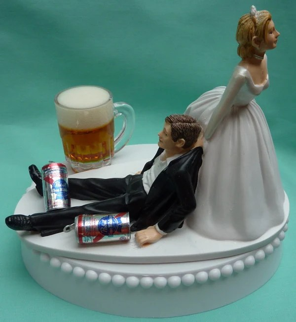 Unique Wedding Cake Toppers Bride And Groom
