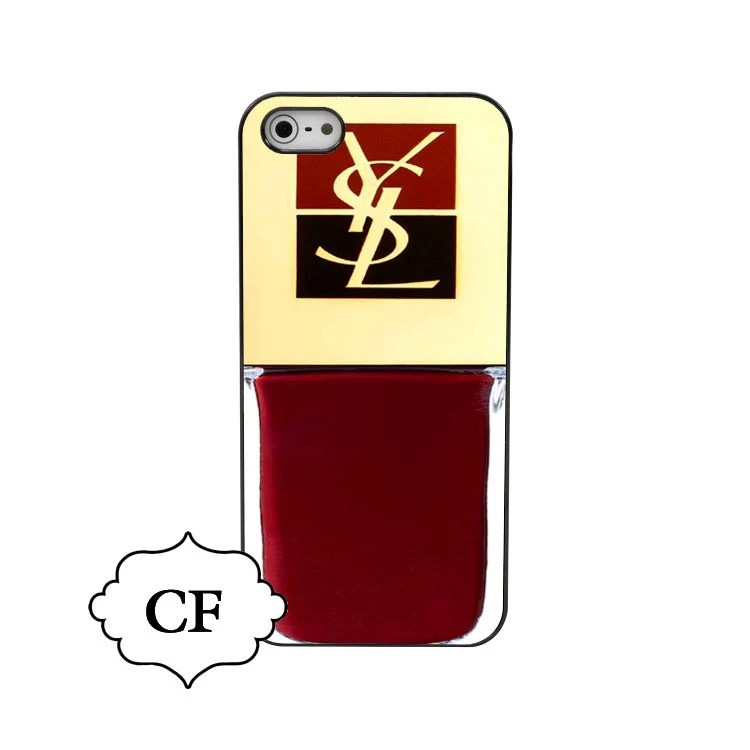 YSL iphone case iphone5 hard case make up iphone case