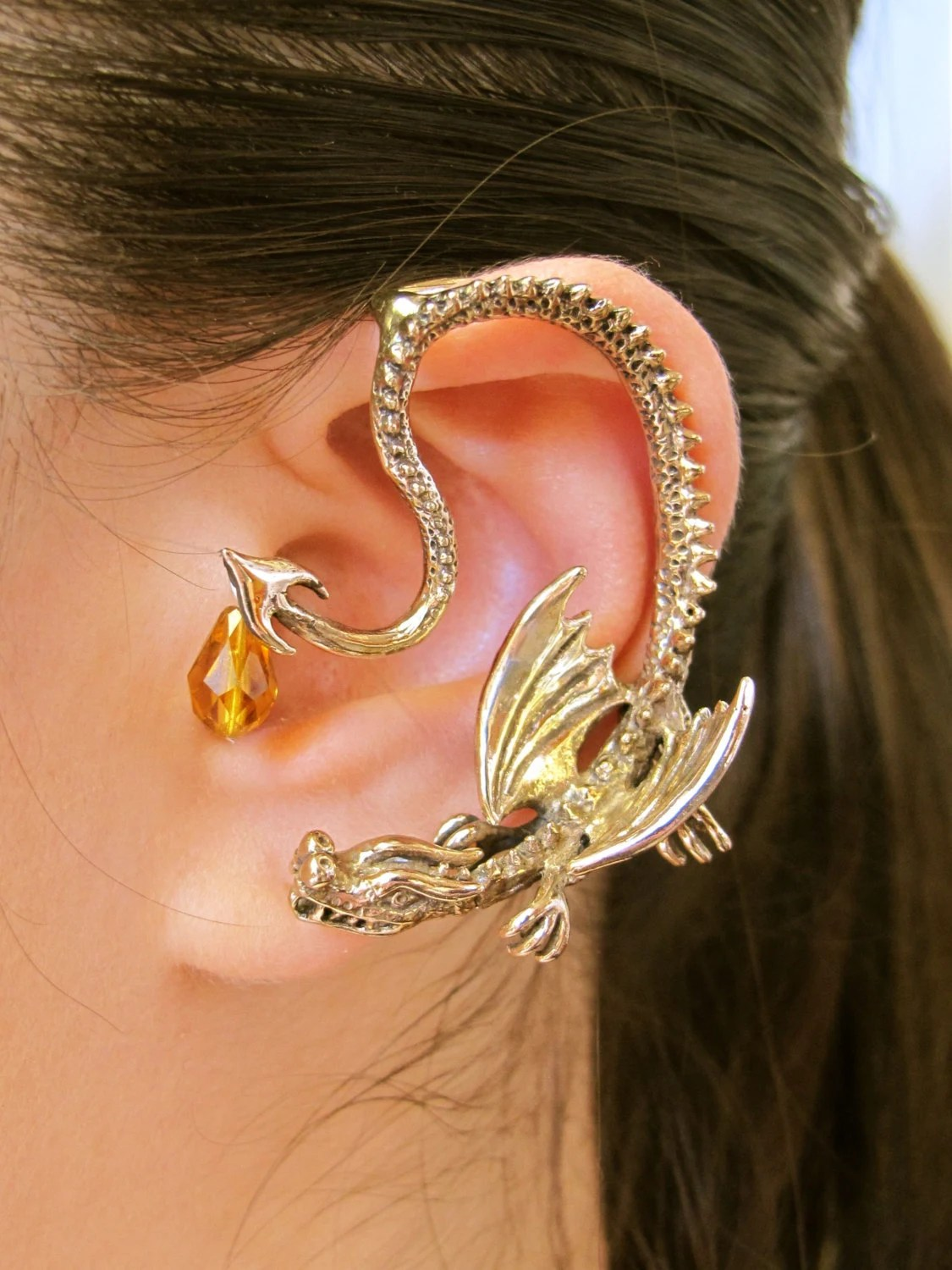 Dragon Ear Wrap Dragon Ear Cuff Game Of Thrones Inspired