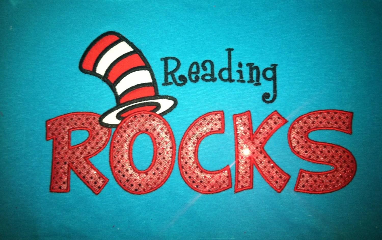 Dr. Seuss Reading Rocks Shirt