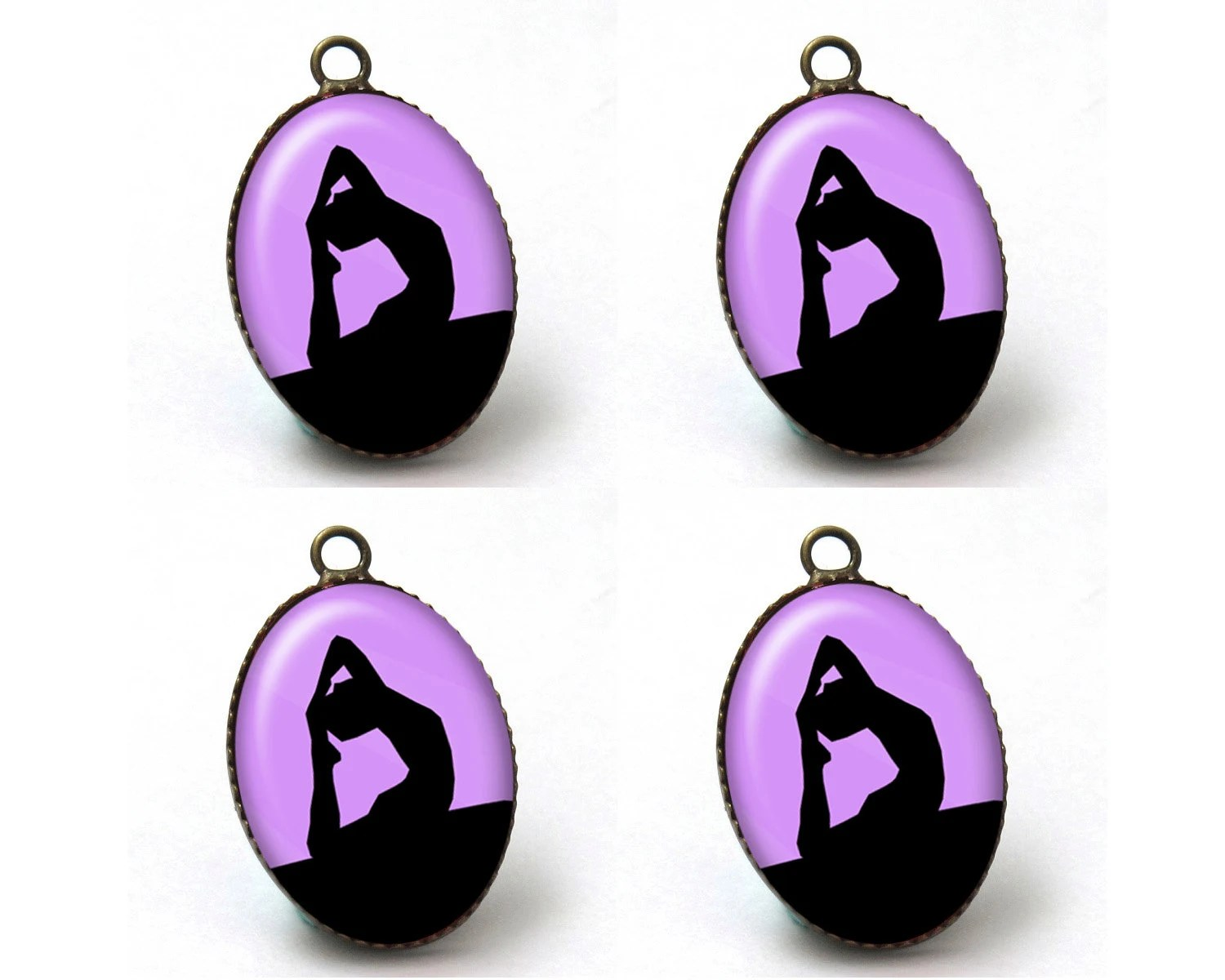Yoga Charms Jewelry Making