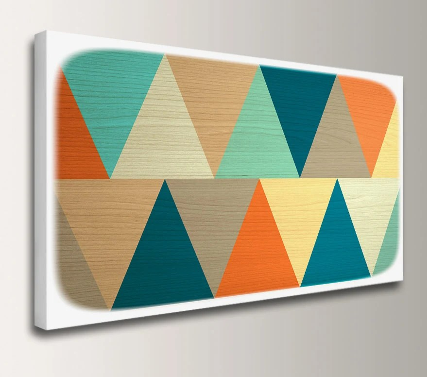 Mid Century Modern Canvas Art
