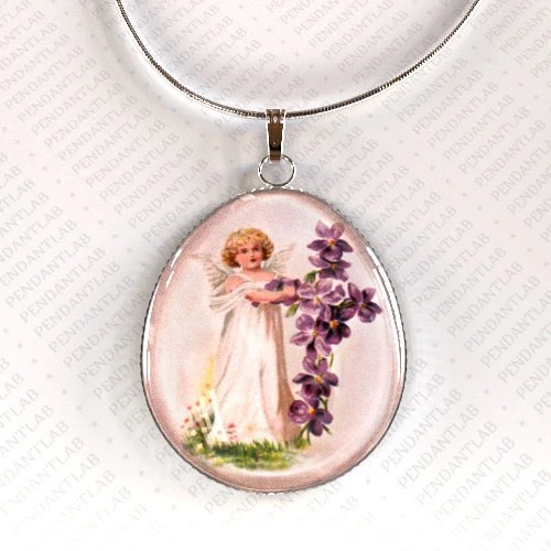 Necklaces Mother Angel Baby