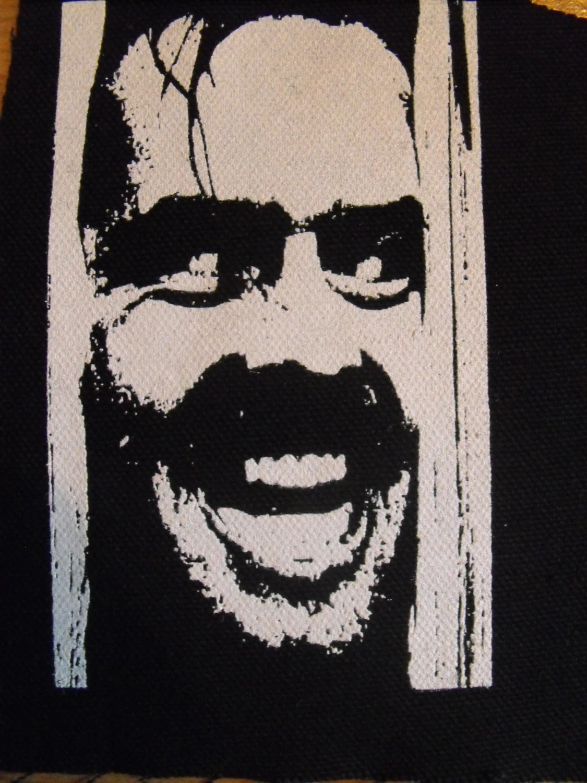 Stencil Marilyn Manson Pumpkin