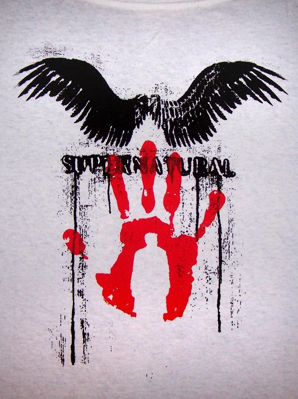 Castiel Angel Wings Silhouette