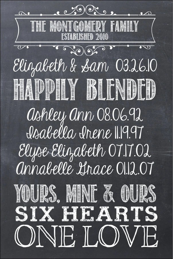 Marriage New Family Quotes Blended