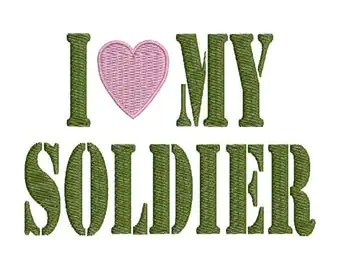Download Love my soldier | Etsy