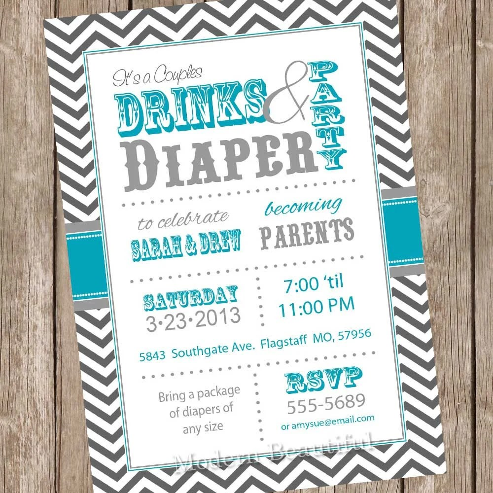 Couples Baby Shower