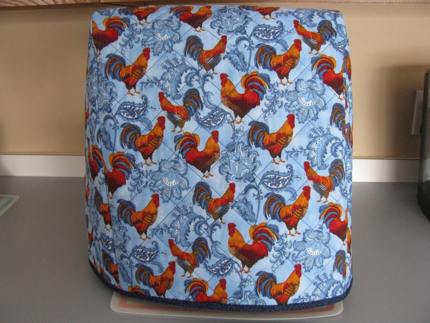 5 6 Quart Kitchenaid Quilted Stand Mixer Cover French