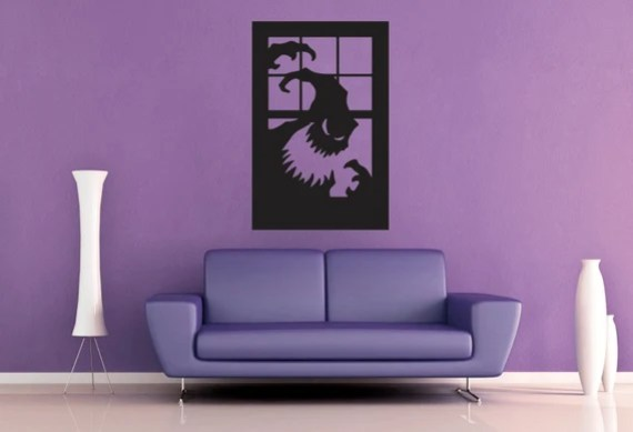 Ghost Window - Wall Decal - Large