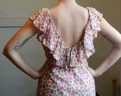 Romantic Floral Girly Women Sweet Short Dress