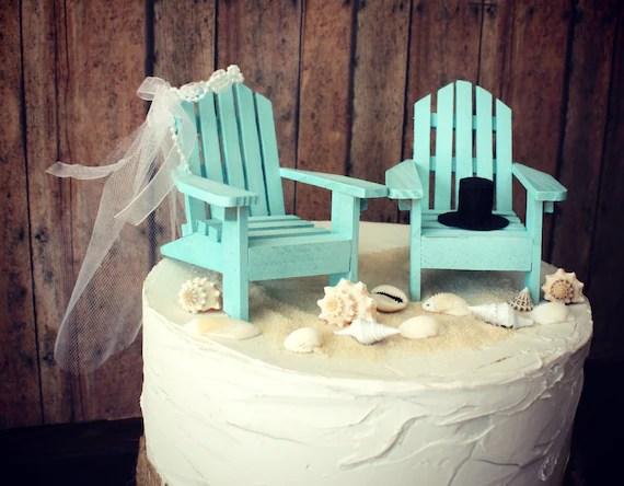 Items Similar To Adirondack Beach Wedding Chairs