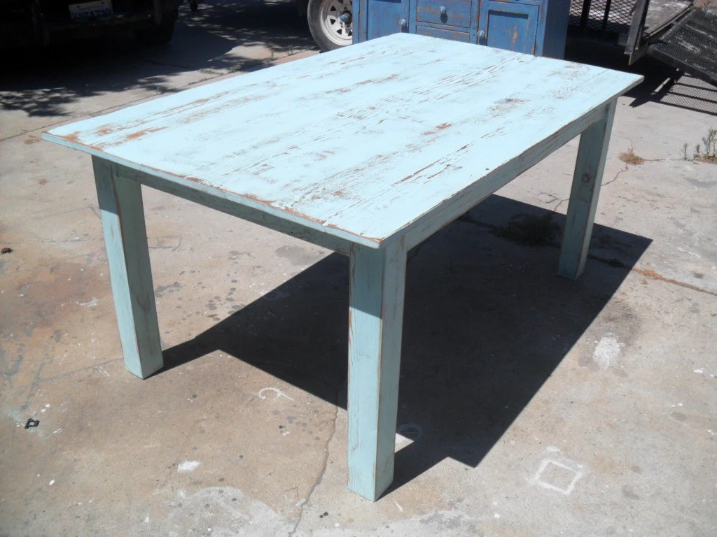Reclaimed Wood Kitchen Dining Table. USA Made