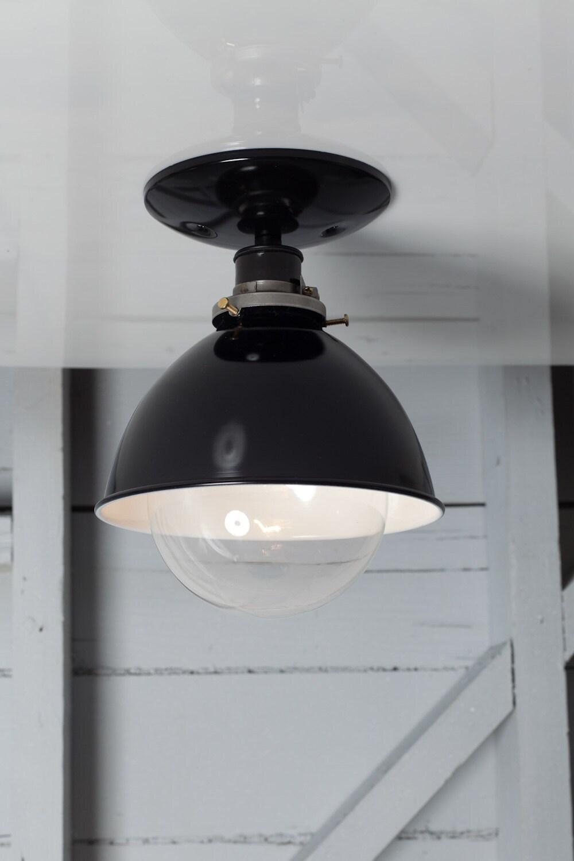 Red Metal Pendant Ceiling Light