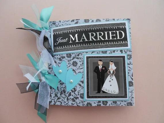 Wedding Gift Wedding Day Memories Pre Made Scrapbook Album