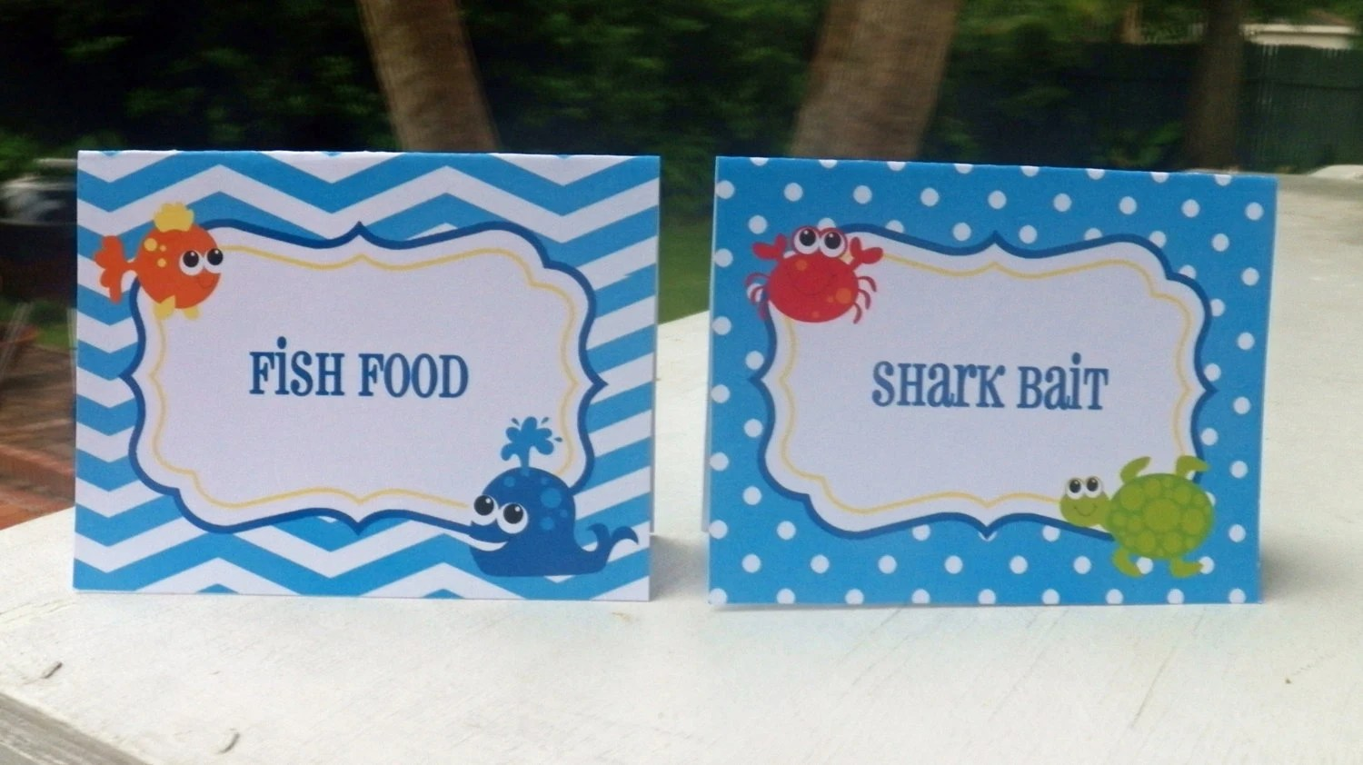 Under The Sea Invitation Printable Or Printed By
