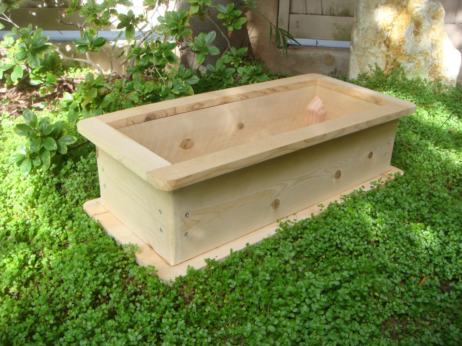 Small Wooden Garden Box